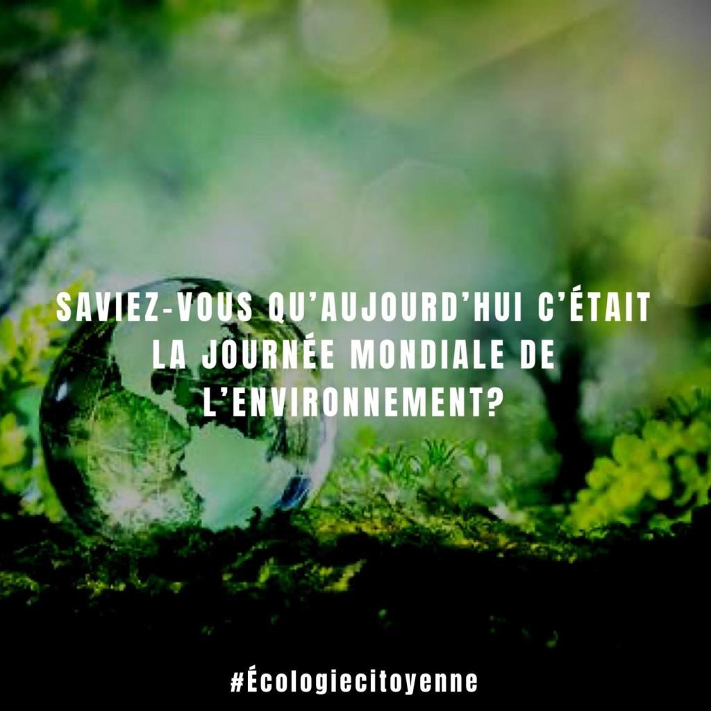 5 mai, Journée mondiale de l'environnement