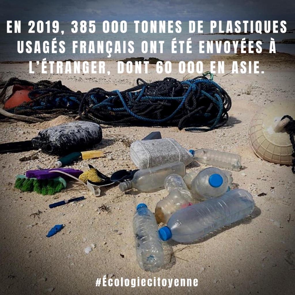 Plastiques usagés français !!